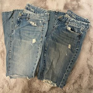 2 American Eagle Real Flare Jeans (6)